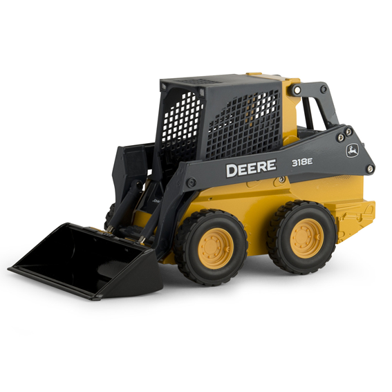 Ertl John Deere 1:16 Scale Model 318E Skid Steer Loader