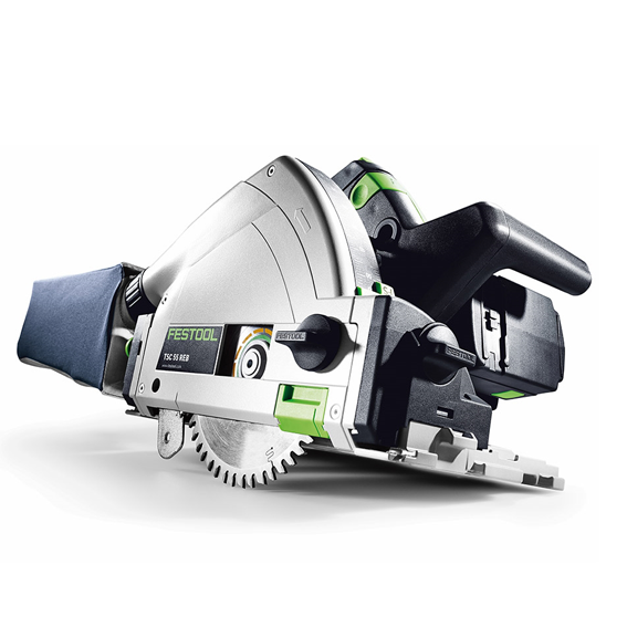 Festool 201394 TSC 55 REB Li Cordless Plunge-Cut Track Saw Basic Imperial