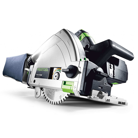 Festool 201399 TSC 55 REB Li XL Set Cordless Plunge-Cut Track Saw Imperial