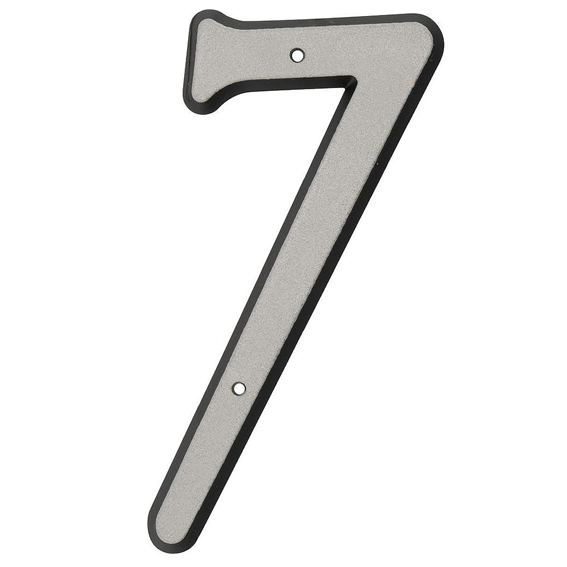 Hillman 841610 4-Inch Nail On Reflective Plastic Number 7