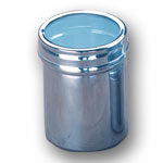 Stainless Steel Storage Canister - Large - 2-1/4 x 3-1/8