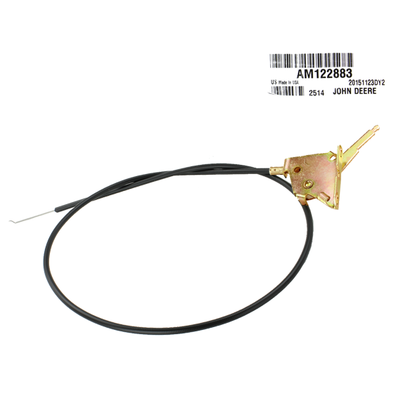 John Deere #AM122883 Throttle Control Cable