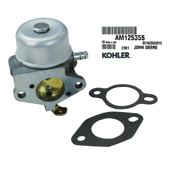 John Deere #AM125355 Carburetor Kit