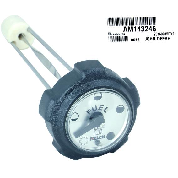 John Deere #AM143246 Fuel Cap Gauge