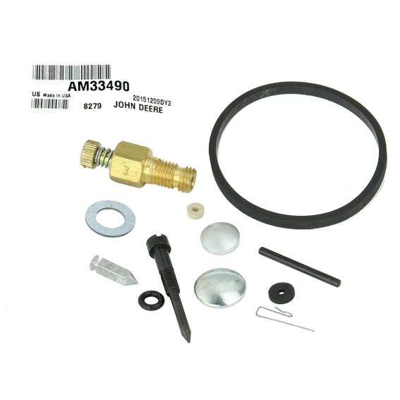 John Deere #AM33490 Carburetor Repair Kit