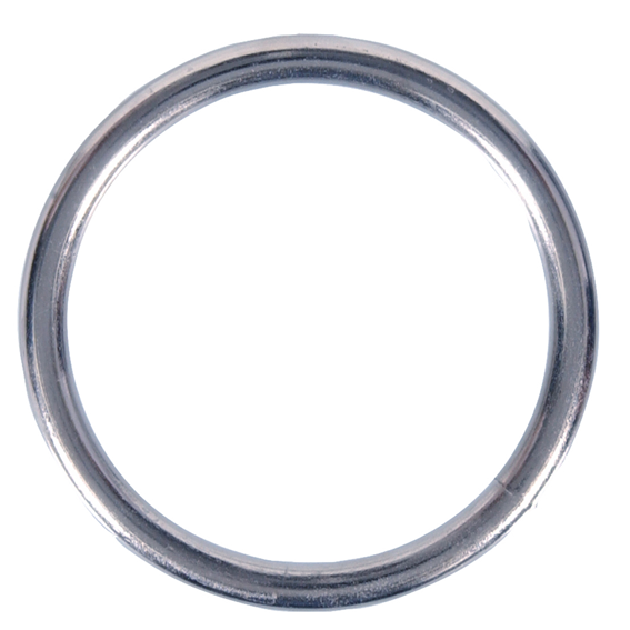 HILLMAN 321718 NICKEL PLATED STEEL WELDED RING - 2-1/2 INCH