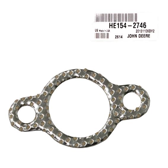 John Deere #HE154-2746 Exhaust Gasket