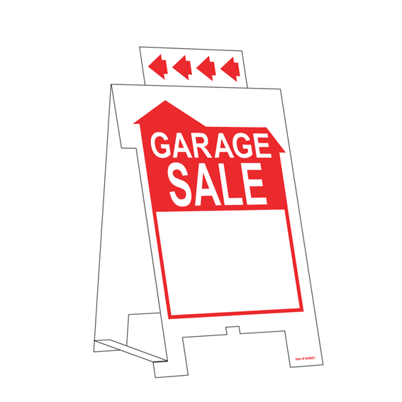 HILLMAN 848601 GARAGE SALE TENT SIGN