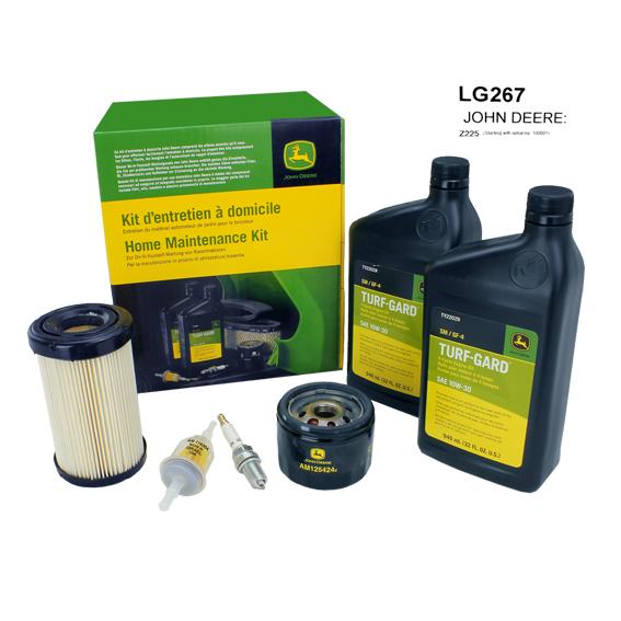 John Deere #LG267 Home Maintenance Kit
