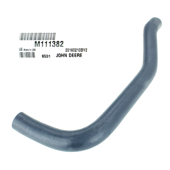 John Deere #M111382 Lower Radiator Hose