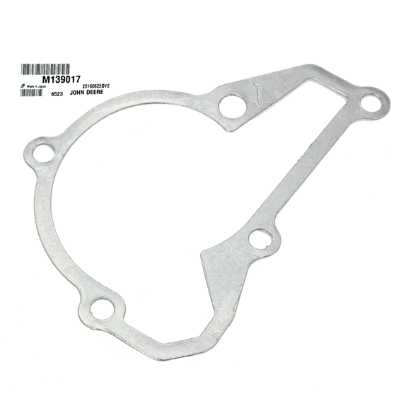 John Deere #M139017 Water Pump Cover Gasket