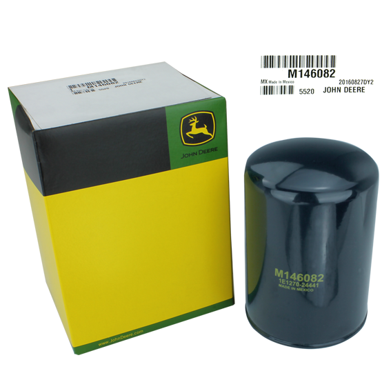 John Deere #M146082 Hydraulic Oil Filter