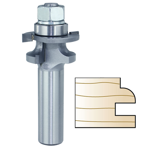 Whiteside 5740A Stile Cutter Router Bit, Round