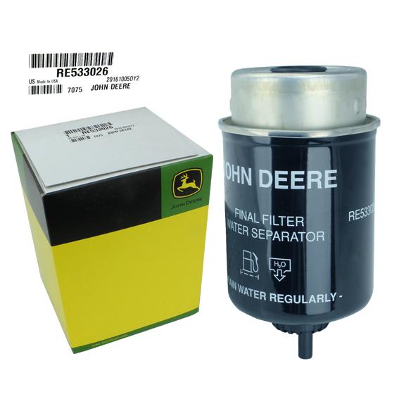 John Deere #RE533026 Fuel Filter Element