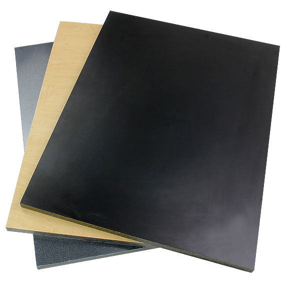 Leecraft #BK-2 Blank Phenolic Sheet - 11 x 15 x 1/4