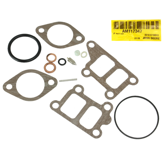John Deere #AM117347 Carburetor Gasket Kit
