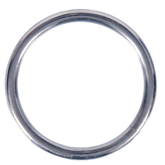 Hillman 321718 2-1/2 Nickel Plated Steel Welded Rings, 5 ct