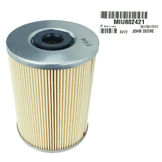 John Deere #MIU802421 Fuel Water Separator Filter