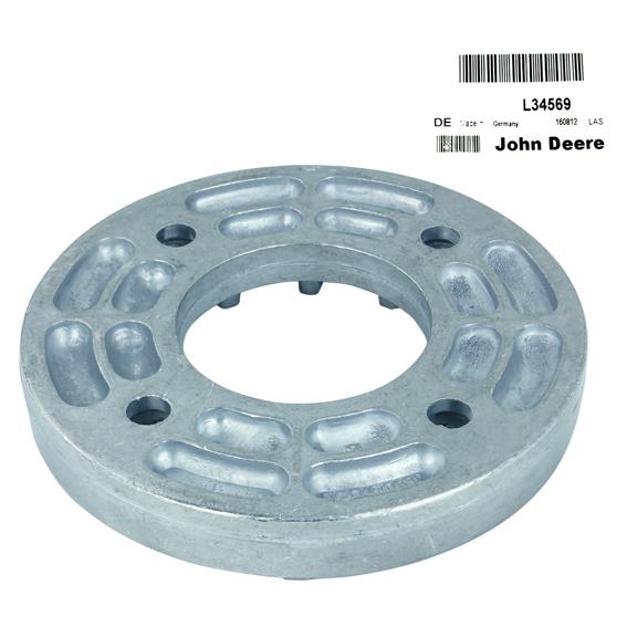 John Deere #L34569 Hydraulic Pump Drive Coupling