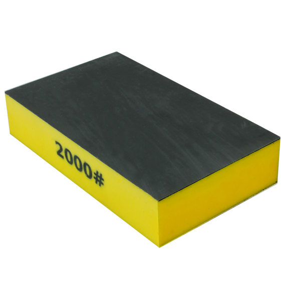 Norton SandWet Sponge Abrasive - 2000 Grit