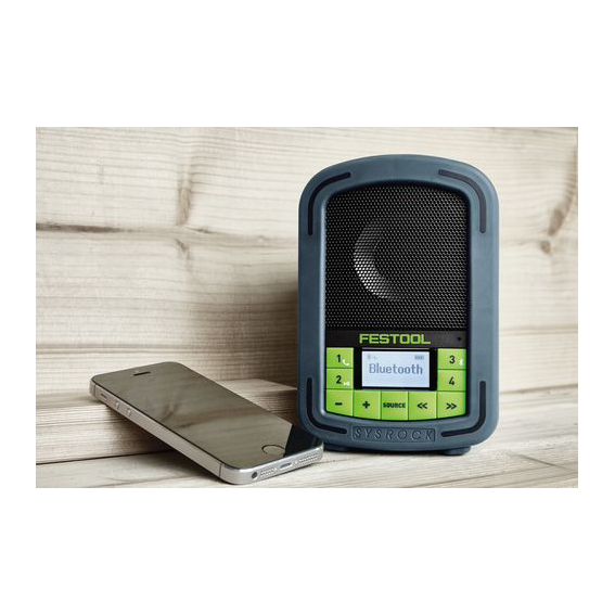 FESTOOL SYSROCK JOBSITE RADIO - BLUETOOTH