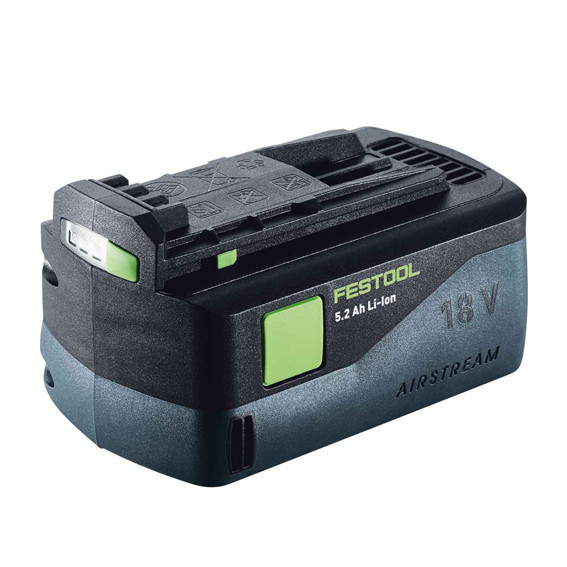 Festool 201066 BP 18 Li 5.2 AS Airstream Battery