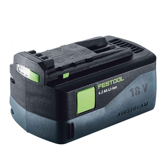 FESTOOL BP 18 LI 6.2 AS AIRSTREAM BATTERY