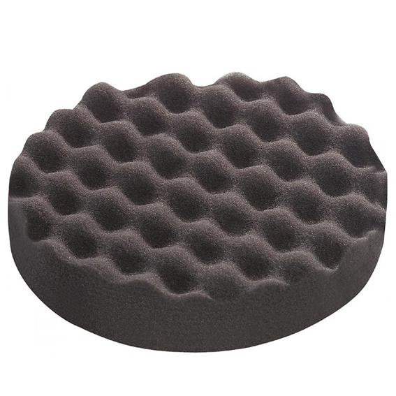 Festool 202018  Black Extra-Fine Waffle Polishing Sponges, 5 ct