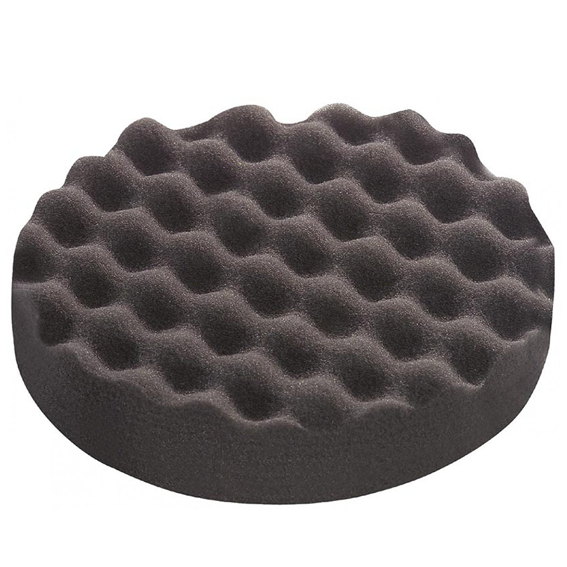 Festool 202020 D180 Black Fine Waffle Polishing Sponges, 5 ct