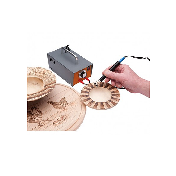 SORBY #PYRO110C ARTISTS  PYROGRAPHY MACHINE - IN USE 1