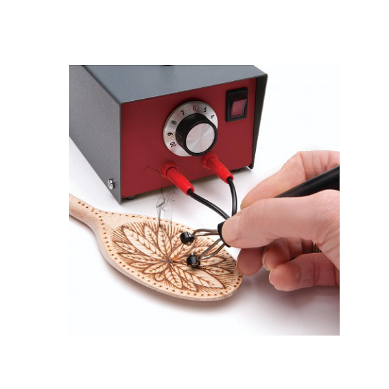 SORBY #PYRO110C ARTISTS  PYROGRAPHY MACHINE - IN USE 2