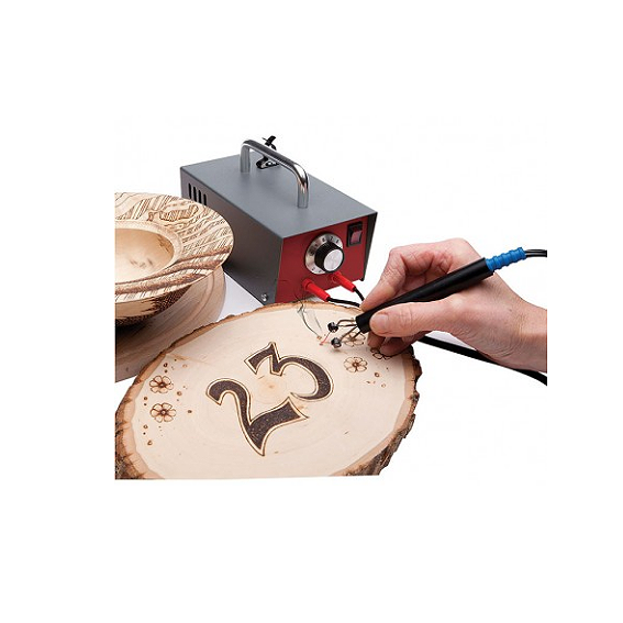 SORBY #PYRO110C ARTISTS  PYROGRAPHY MACHINE - IN USE 3