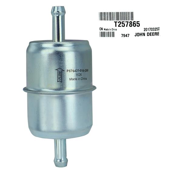 John Deere #T257865 Fuel Filter