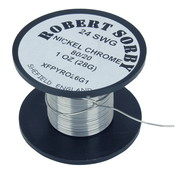 Sorby #PYRO24G1 24 SWG Nickel Chromium Reel - 1 oz.