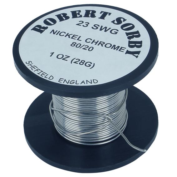 Sorby #PYRO23G1 23 SWG Nickel Chromium Reel - 1 oz.