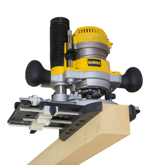 M-POWER CRB7 MHLF MORTICE MATE MORTISE, LOCK, & HINGE JIG - IN USE #3