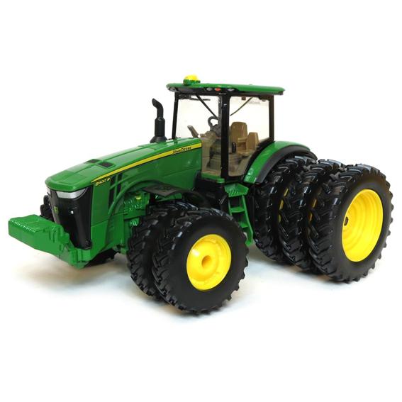 Ertl John Deere 1:32 Scale Model 8400R 4WD Tractor W/Triples