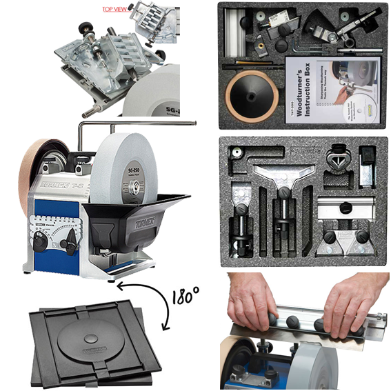 TORMEK T-8 SHARPENING SYSTEM #TBP805 ULTIMATE PLUS KIT PACKAGE