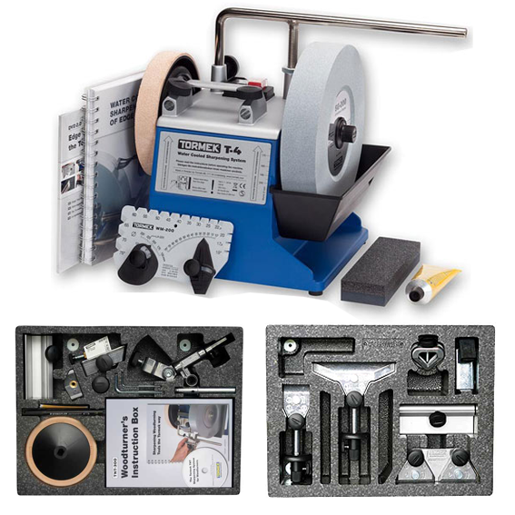 TORMEK T-4 SHARPENING SYSTEM #TBT402 MAGNUM KIT PACKAGE