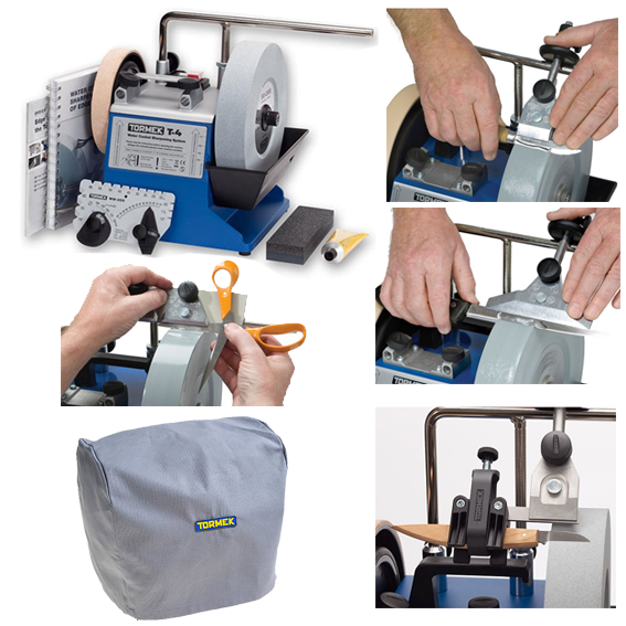 Tormek T-4 Sharpening System #TBT403 Chef's Kit Package