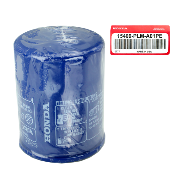 Honda #15400-PLM-A01PE Engine Oil Filters, 5 Pack