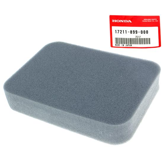 Honda #17211-899-000 Air Filter Elements, 2 Pack