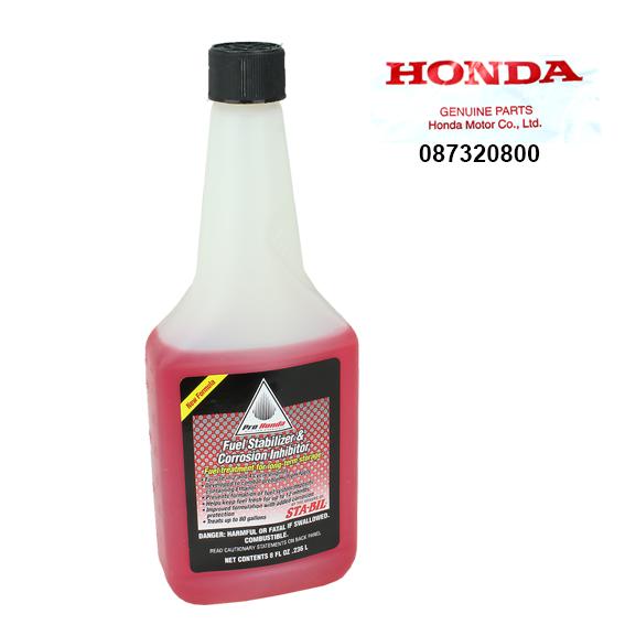 Honda #08732-0800 Fuel Stabilizer & Corrosion Inhibitor, 8 oz.