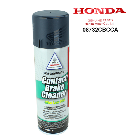 Honda 08732-CBCCA Ultra Low Voc Non-Chlorinated Contact / Brake Cleaner, 15 oz