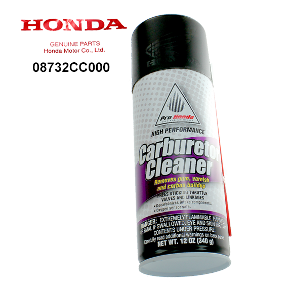 Honda #08732-CC000 High Performance Carburetor Cleaner, 12 oz.
