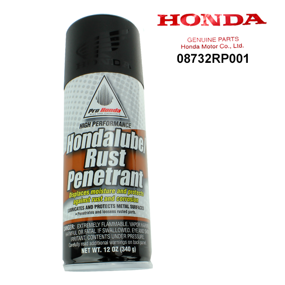 Honda 08732-RP001 High Performance Hondalube / Rust Penetrant, 12 oz.