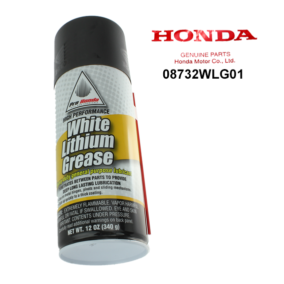Honda #08732-WLG01 High Performance White Lithium Grease, 12 oz.