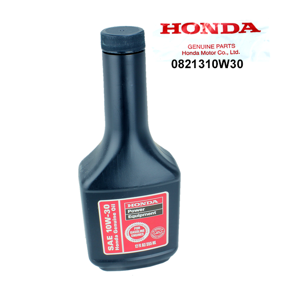 Honda #08213-10W30 Motor Oil, 12 oz.