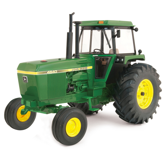 Ertl John Deere 1:16 Scale Model 4640 40Th Anniversary Collector Edition Tractor