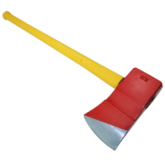 Council Tool Flathead Fire Axe w/36 Fiberglass Handle & Marrying Slot